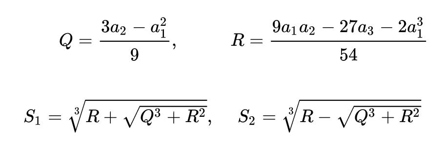 Calculadora De Ecuaciones De Tercer Grado Online Ax3 Bx2 Cx D 0